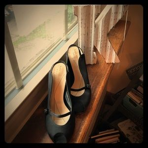 Kate Spade Black Heels Size 5-1/2